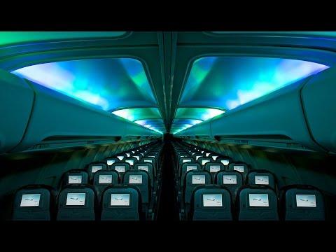 Da li ste videli polarnu svetlost u avionu?