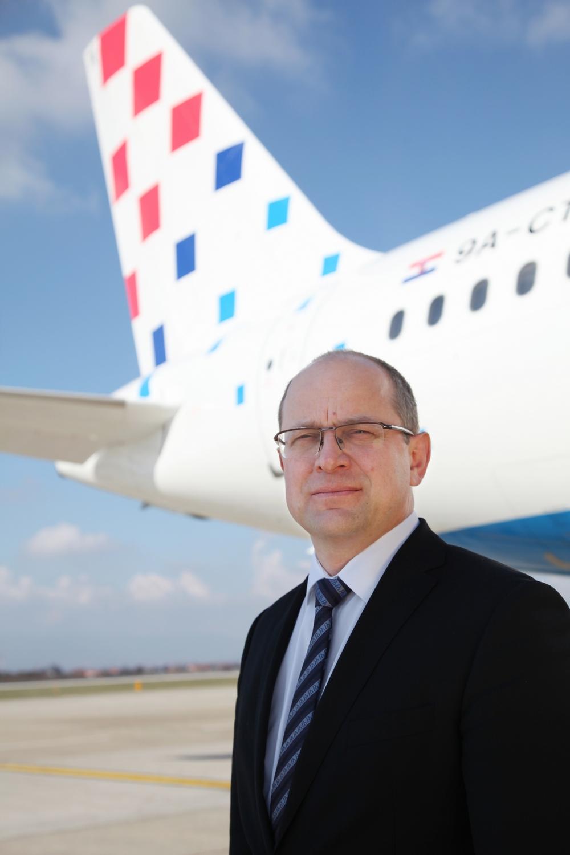Krešimir Kučko, predsednik uprave Croatia Airlinesa, foto: Croatia Airlines