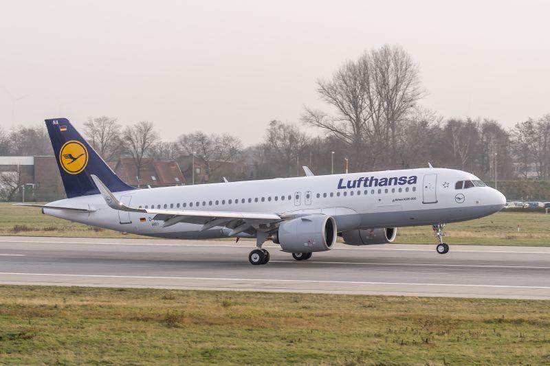 prvi A320neo LH
