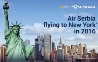 Air Serbia danas otkriva plan za letove do Njujorka
