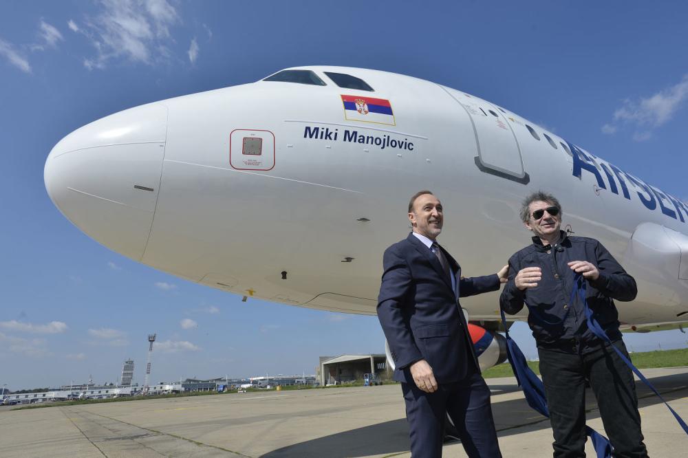 Miki Manojlovic živa legenda Air Serbije