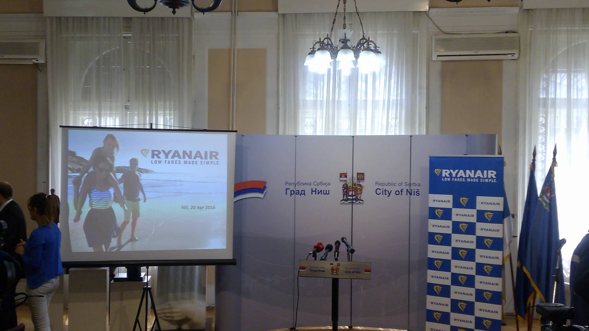 Ryanair dolazi u Srbiju