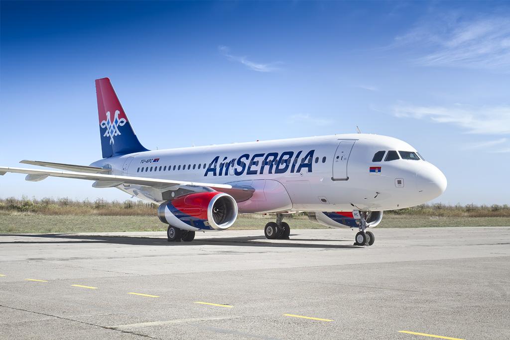 Air Serbia najavila devet novih linija od juna