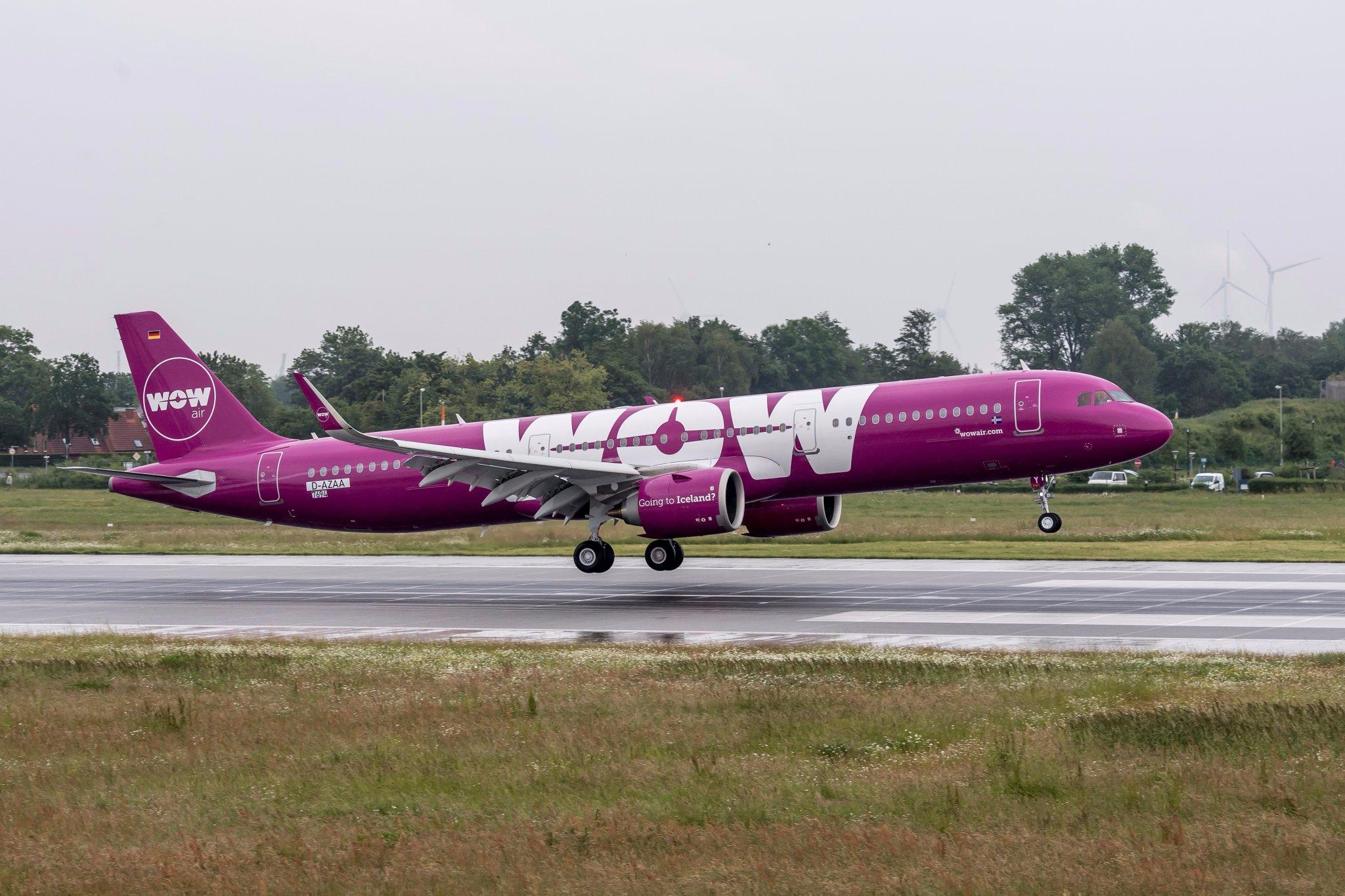 WOW Air prvi korisnik aviona A321neo u Evropi