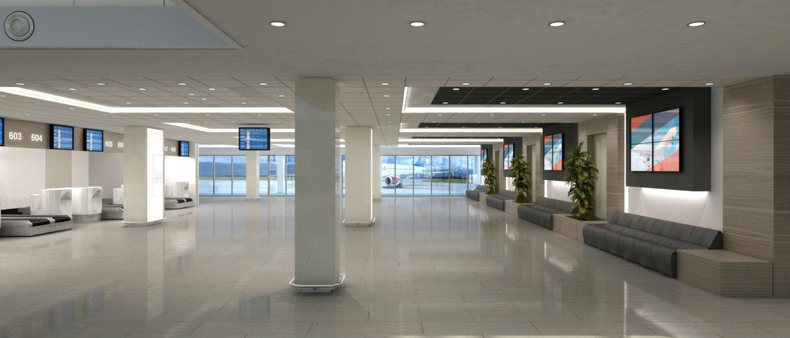 Buduci izgled Terminala 1
