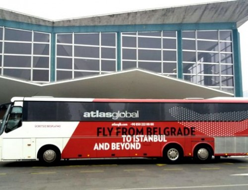 AtlasGlobal u Beogradu uveo besplatan bus do aerodroma
