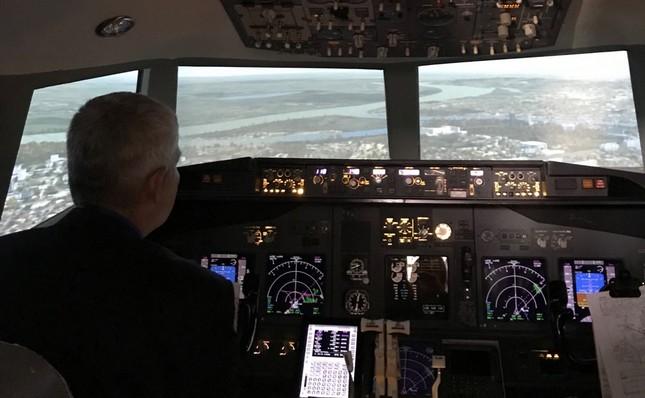 Simulator letenja na aerodromu Nikola Tesla u Beogradu