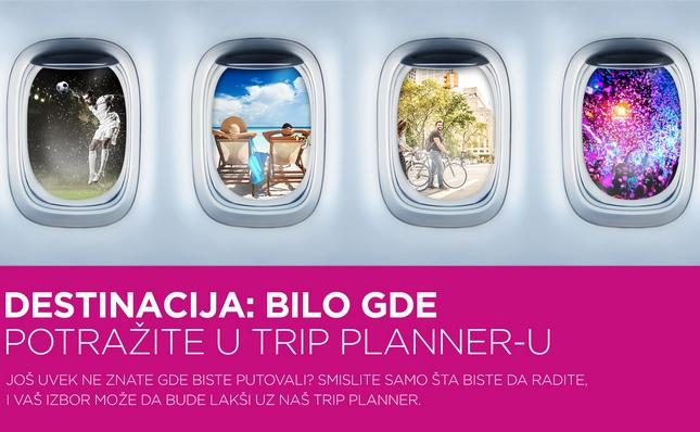 Wizz Air predstavio Trip Planner