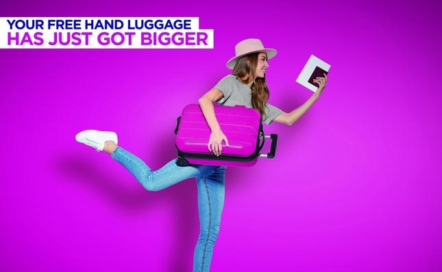 Wizz Air više ne naplaćuje veliki ručni prtljag