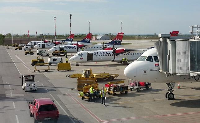 Air Serbia gasi sopstvenu službu zemaljskog opsluživanja aviona