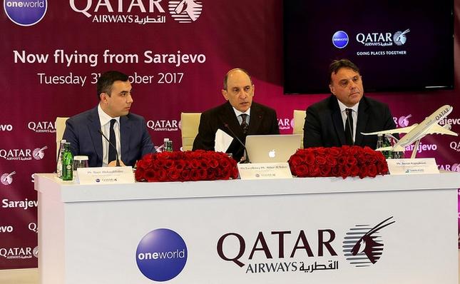 Qatar Airways spojio Sarajevo sa Dohom