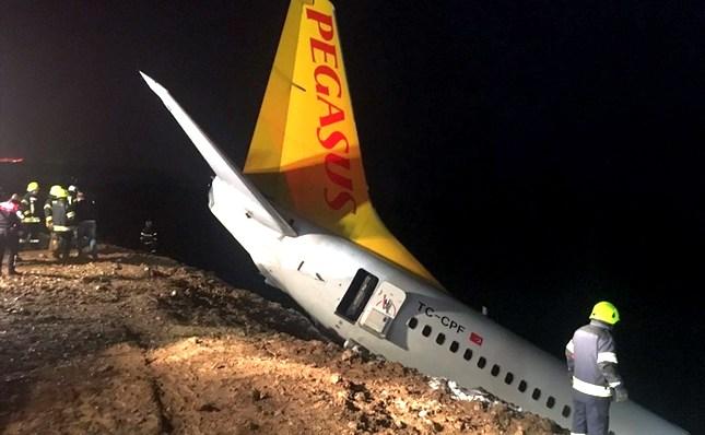 Avion Pegasus Airlines-a izleteo sa piste na aerodromu u Trabzonu