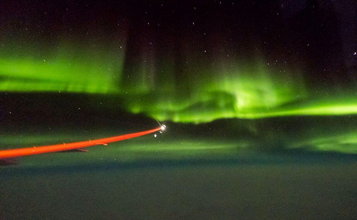 Let Dreamlinerom preko polarnog kruga