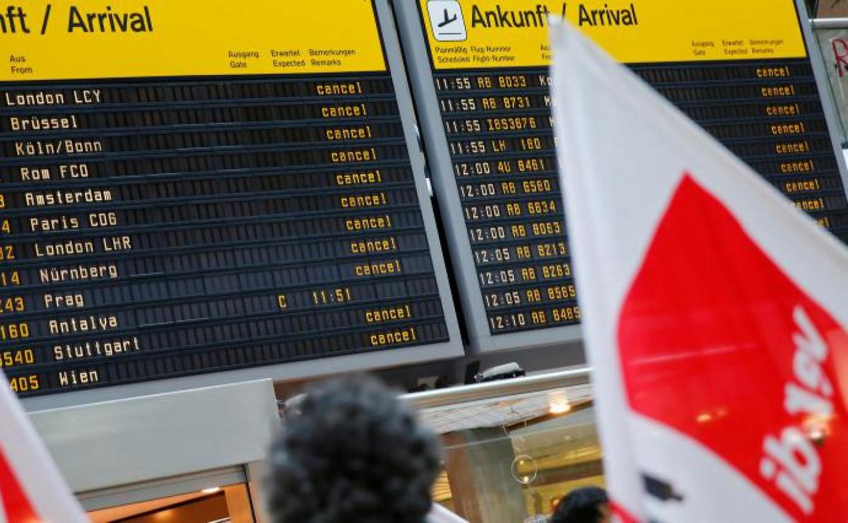 Lufthansa otkazala 800 letova zbog štrajka u javnom sektoru