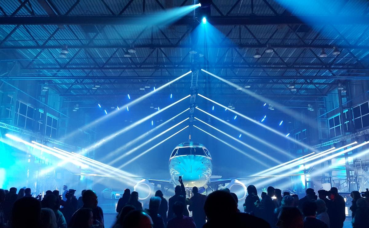 Belavia predstavila u Minsku svoj najnoviji Embraer 175