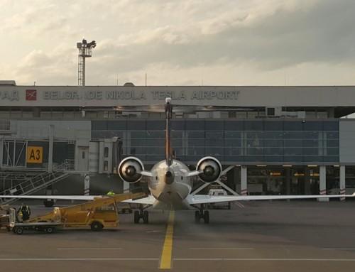 Incident na beogradskom aerodromu – oštećen avion Air Serbije