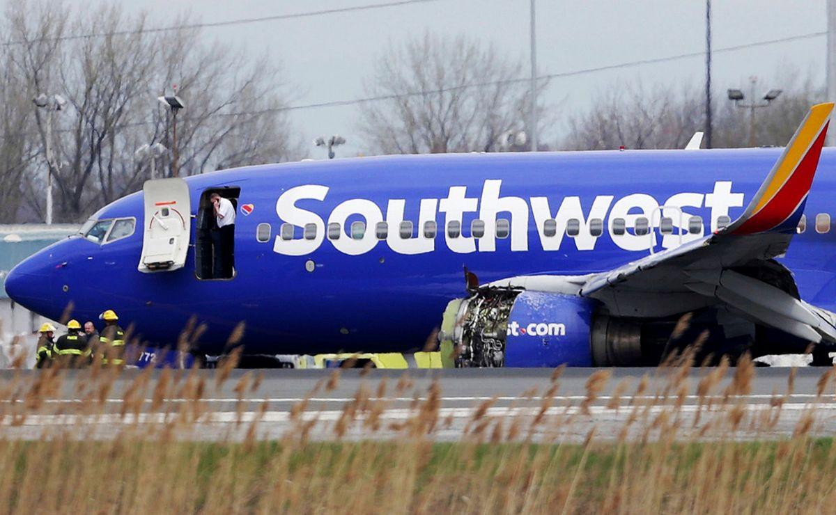 Eksplodirao motor tokom leta na avionu Southwest Airlines-a