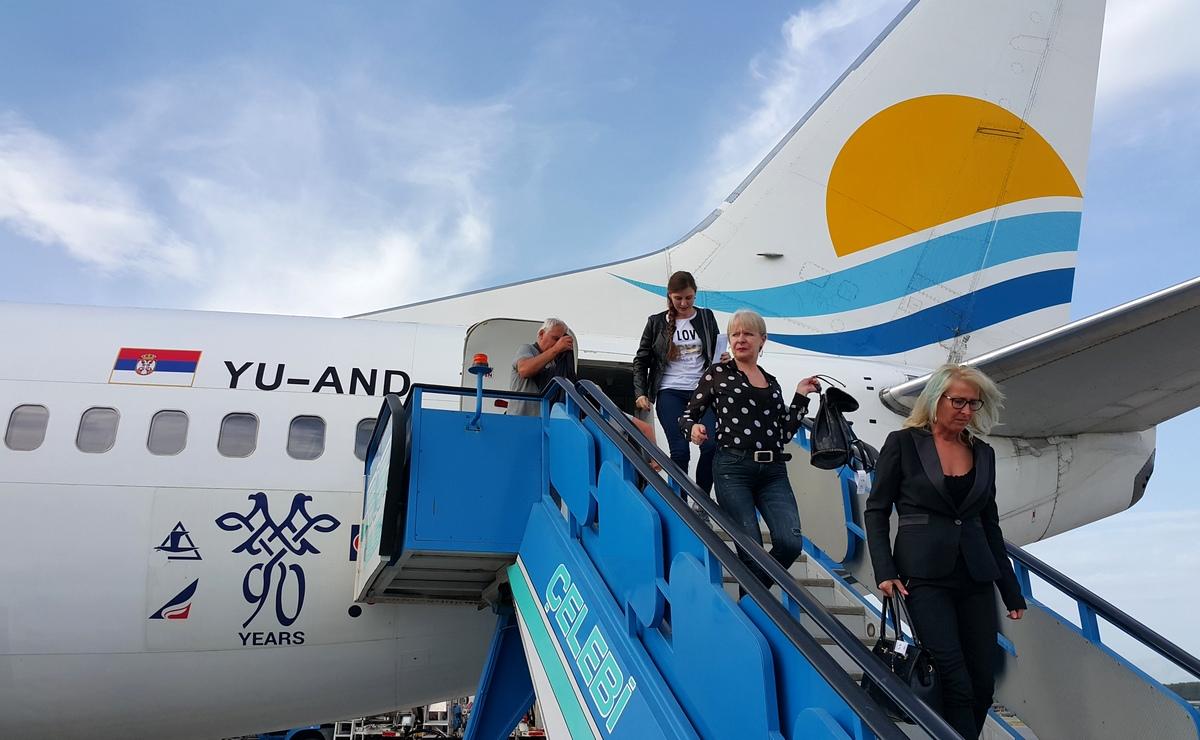 Dvostruko više čarter letova Air Serbije
