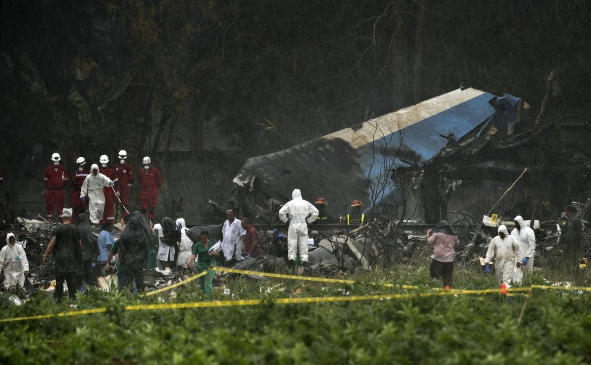 Avion koji je leteo za aviokompaniju Cubana se srušio u Havani