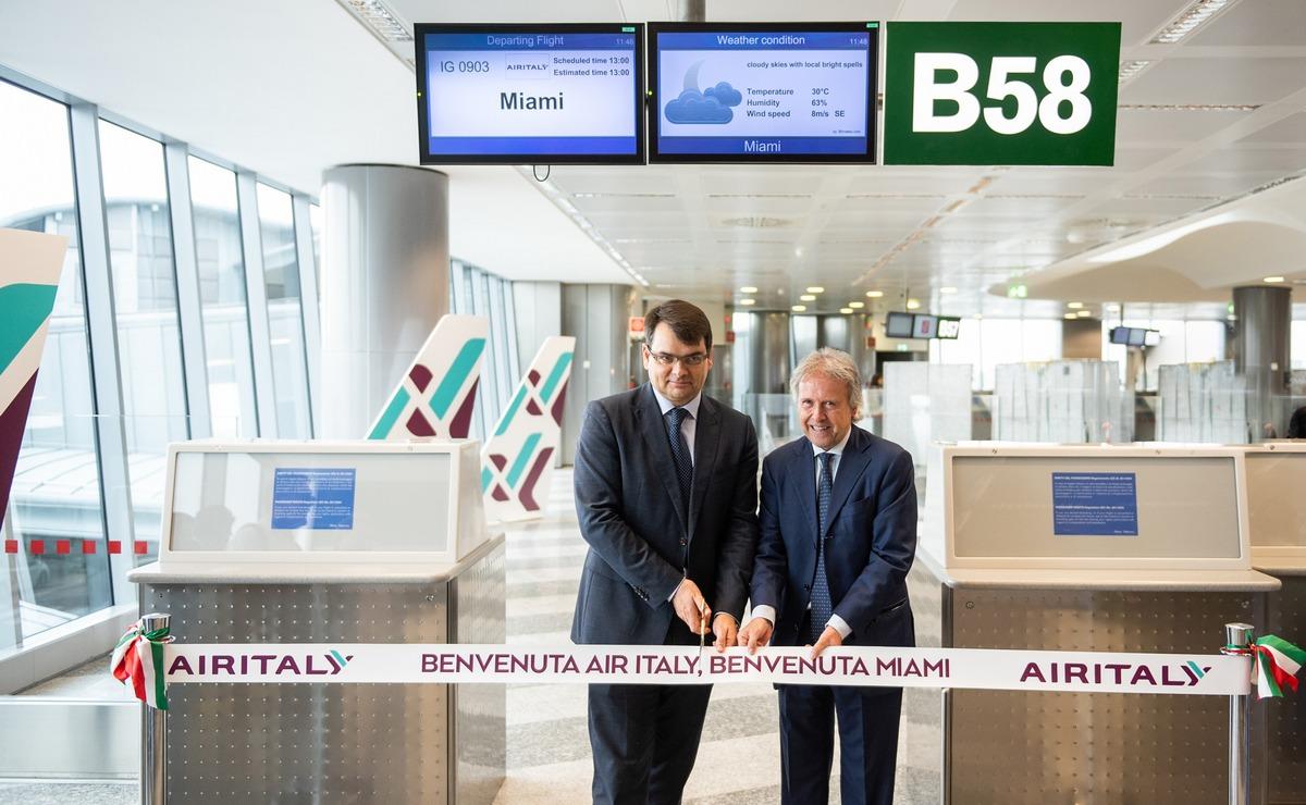 Air Italy obavio prvi let na novoj liniji od Milana do Majamija