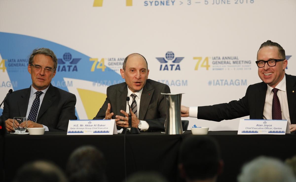 Al Baker novi predsednik odbora direktora IATA