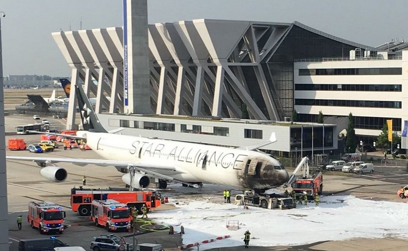 Vatra zahvatila avion Lufthanse na aerodromu u Frankfurtu
