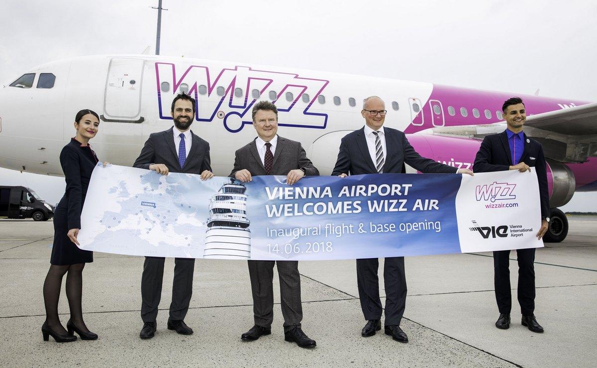 Wizz Air otvorio bazu u Beču
