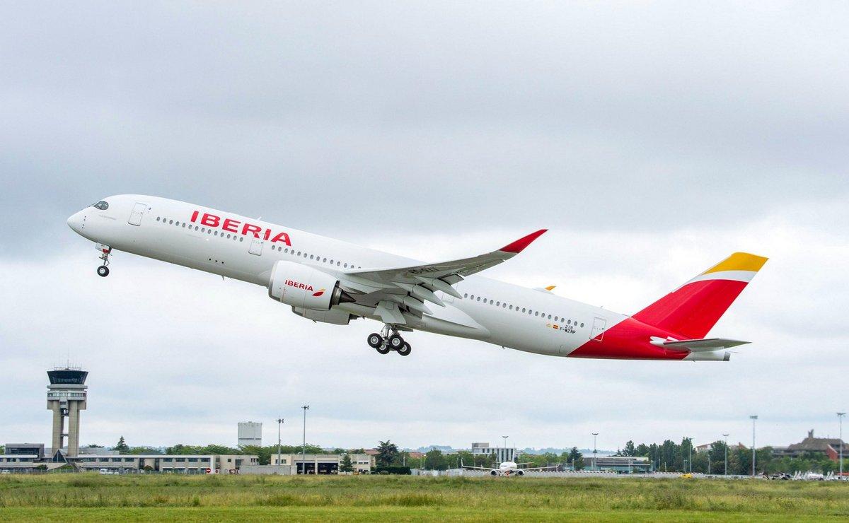 Iberia uključila prvi A350-900 u svoju flotu