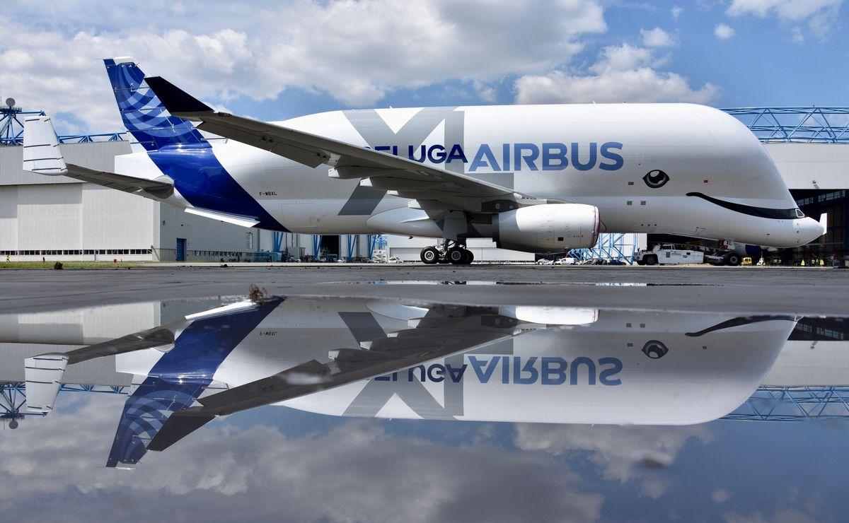 Prvi Airbus BelugaXL poleteo