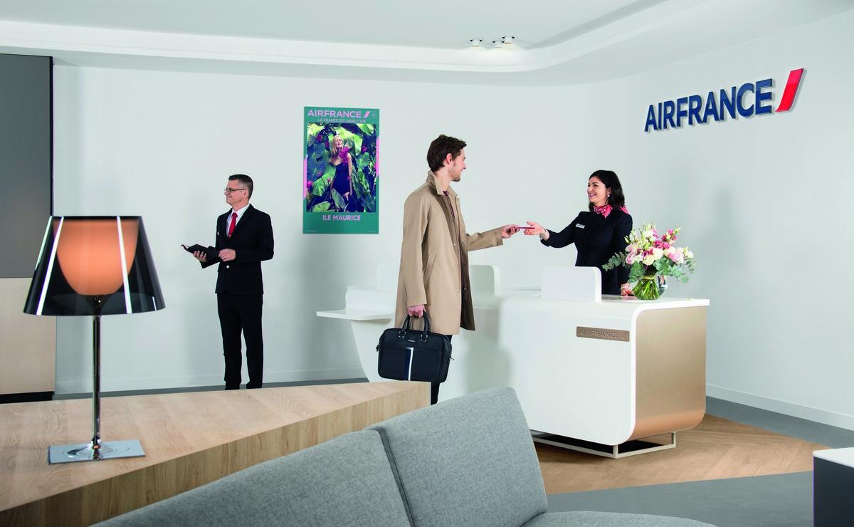 Air France u Parizu otvorio novi salon za putnike biznis klase