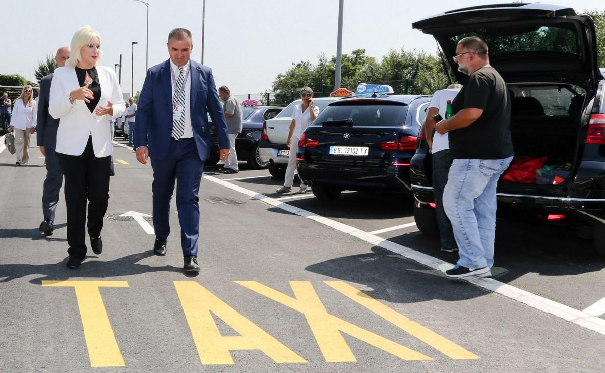 Novo taksi stajalište na aerodromu Nikola Tesla