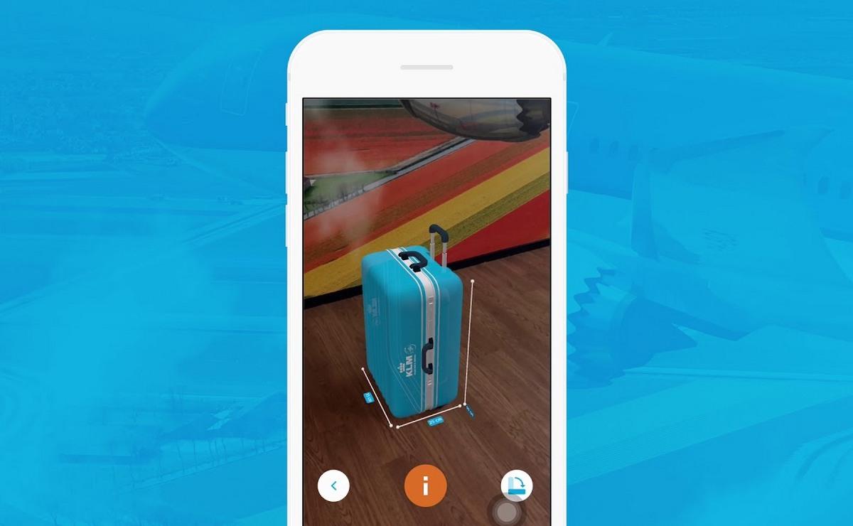 KLM predstavio aplikaciju koja proverava dimenzije prtljaga