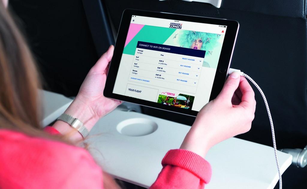 Air France počeo sa uvođenjem interneta tokom leta