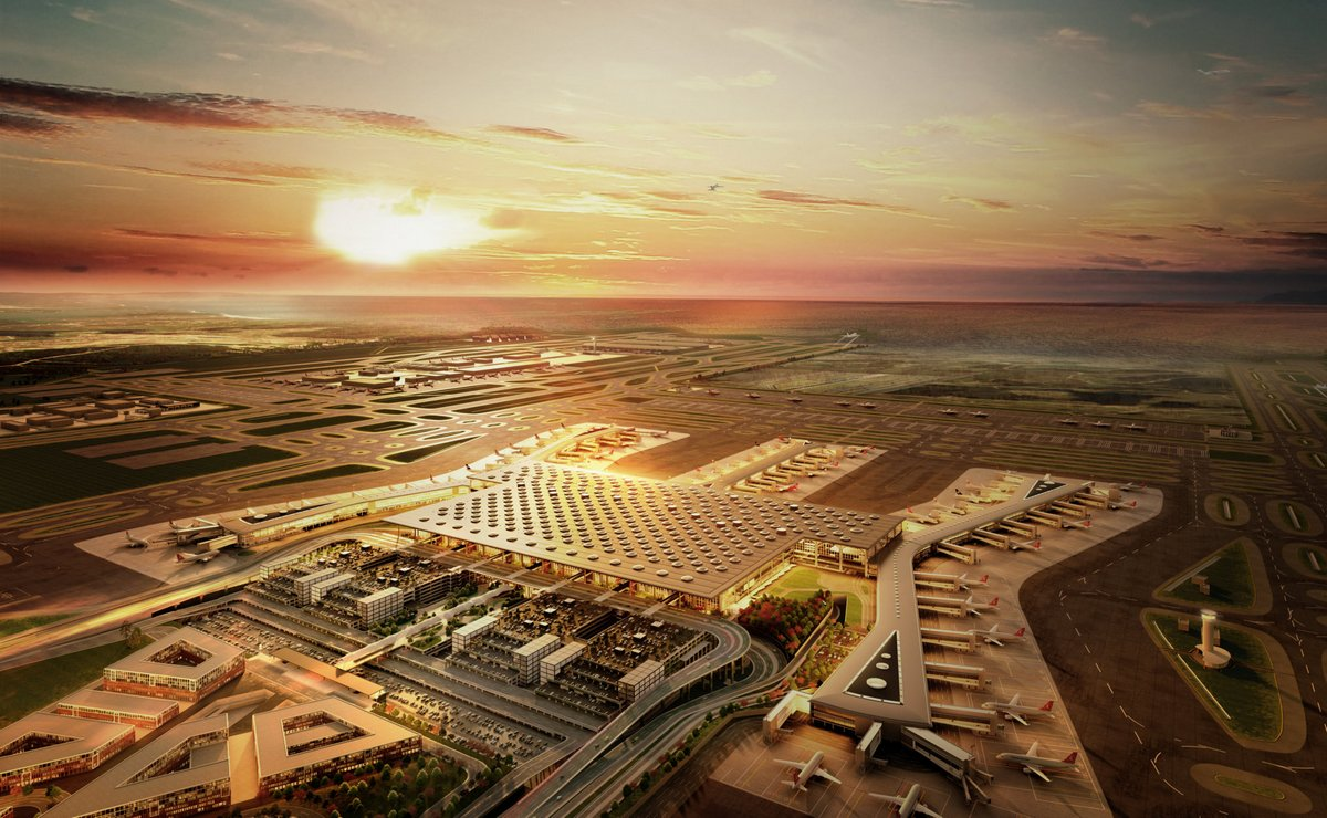 Otvoren novi istanbulski aerodrom
