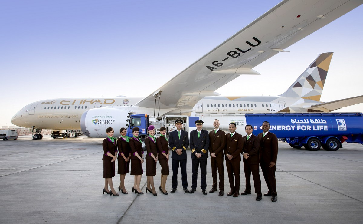 Etihad Airways obavio prvi let na bio gorivo