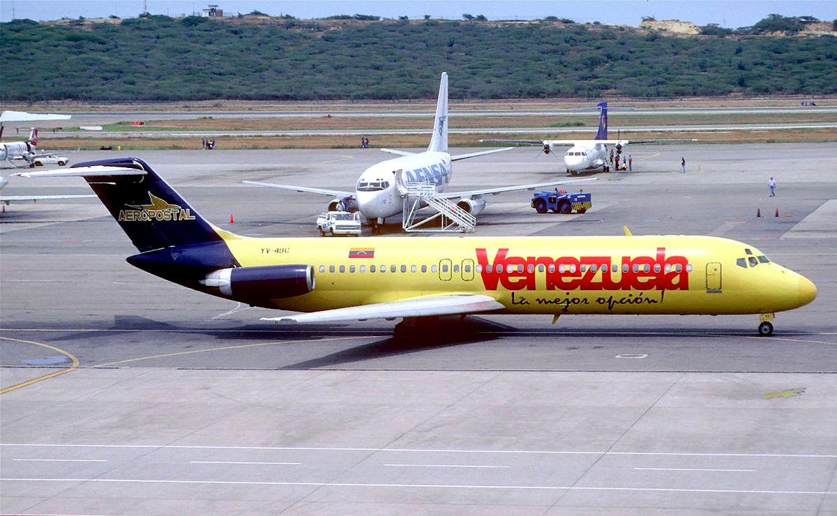 Venecuela postaje rizična za prelet