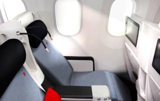 nova kabina A330 Air France