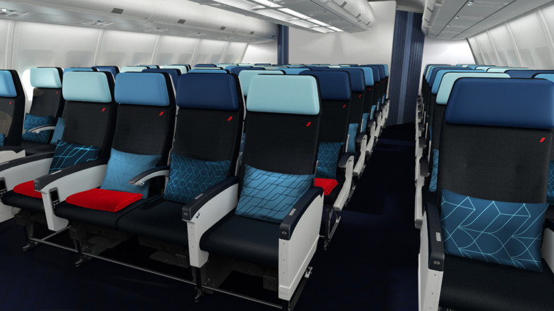 Nova ekonomska klasa AF A330