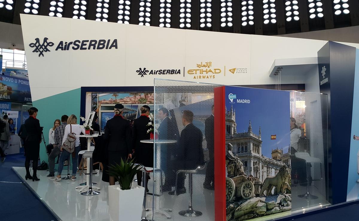 Air Serbia promoviše nove destinacije na sajmu turizma