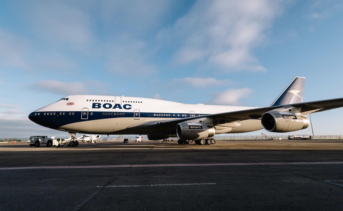 BOAC ponovo leti