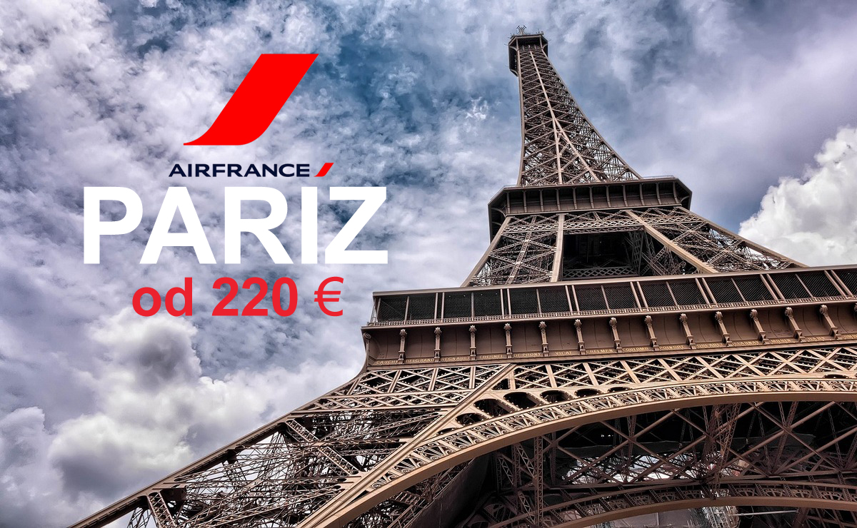 Air France: Do Pariza po promotivnoj ceni