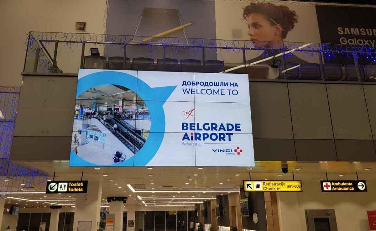 Vinci danas svečano preuzima aerodrom u Beogradu