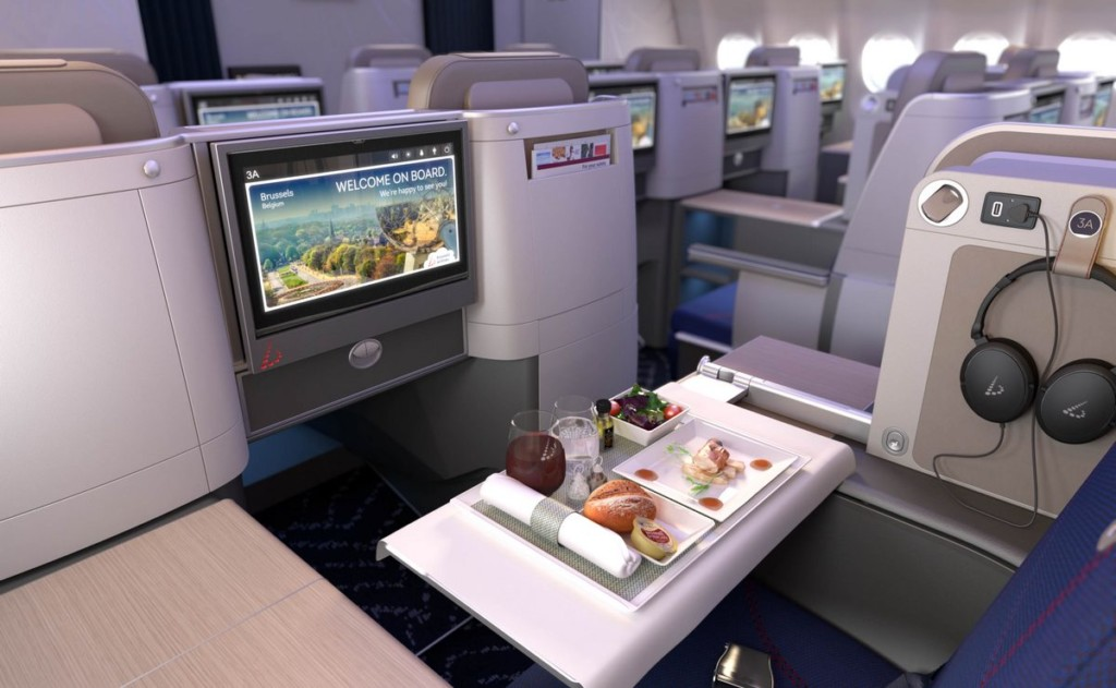 Brussels Airlines new business class