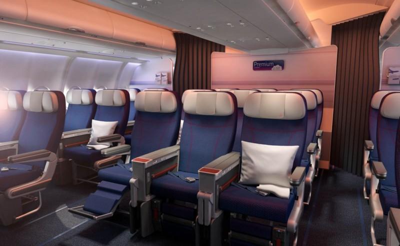Brussels Airlines premium economy class