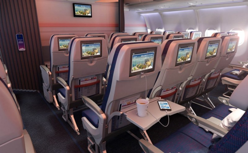 Brussels Airlines new economy class