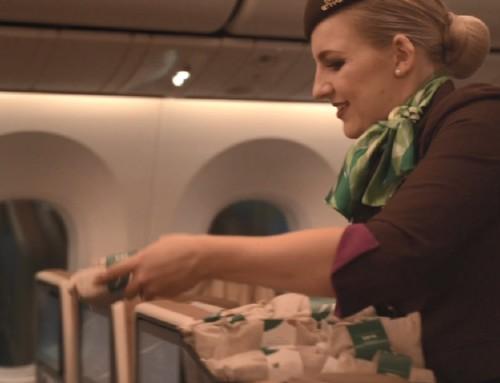 Etihad Airways obavio prvi let bez jednokratne plastike