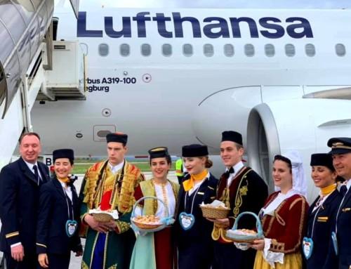 Lufthansa uspostavila redovan saobraćaj iz Minhena i Frankfurta do Tivta