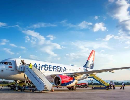 Air Serbia poletela iz Niša