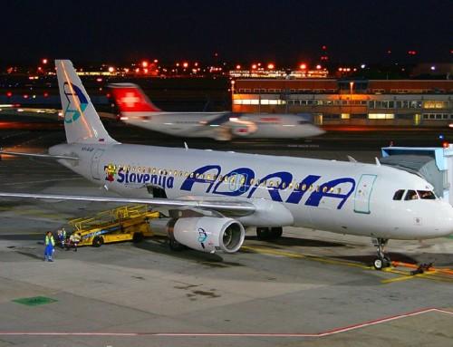 Adria Airways obustavila letove na dva dana