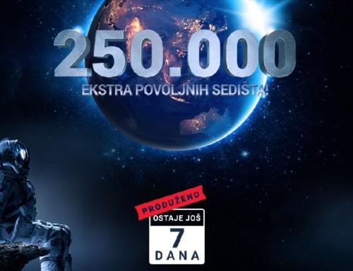 Produžena najveća promotivna akcija Air Serbije